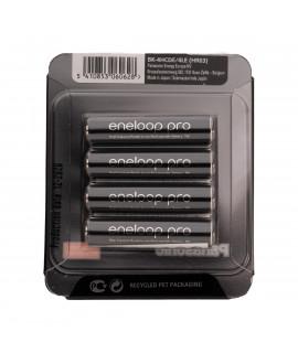 4 AAA Eneloop Pro - sliding blister - 930mAh