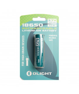 Olight 18650 2600mAh battery for M-serie - blister