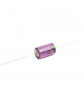 Tadiran SL-350/P 1/2AA Lithium with axial tags - 3.6V