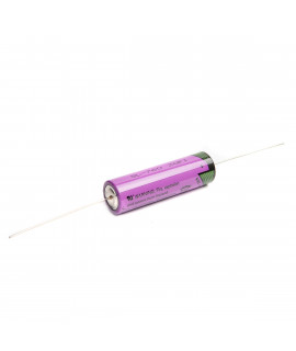 Tadiran SL760 AA Lithium with axial solder tags - 3.6V