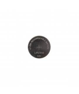 LIR2450 rechargeable li-ion button cell - 120mAh