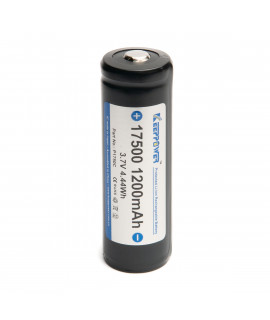 Keeppower 17500 1200mAh (protected) - 3.4A