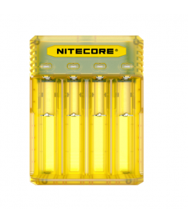 Nitecore Q4 batterycharger - Juicy mango