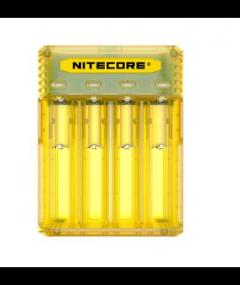 Nitecore Q4 batterycharger - Juicy mango