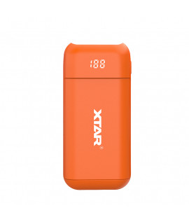 XTAR PB2 powerbank / battery charger - Orange