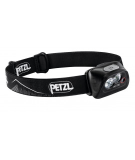 Petzl Actik Black Head Lamp - 350 Lumen