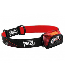 Petzl Actik Core Red Head lamp - 450 Lumen