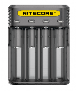 Nitecore Q4 batterycharger - Blackberry
