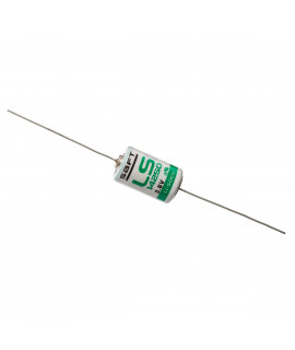SAFT LS14250 / 1/2AA with axial solder tags (CNA) - 3.6V