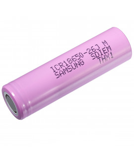 Samsung ICR18650-26J (26JV3) - 2600mAh - 5.2A