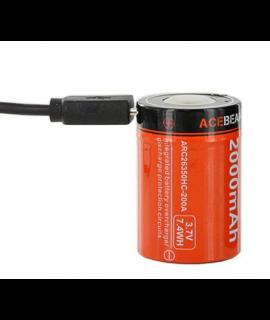 Acebeam ARC26350HC 2000mAh 1A - USB